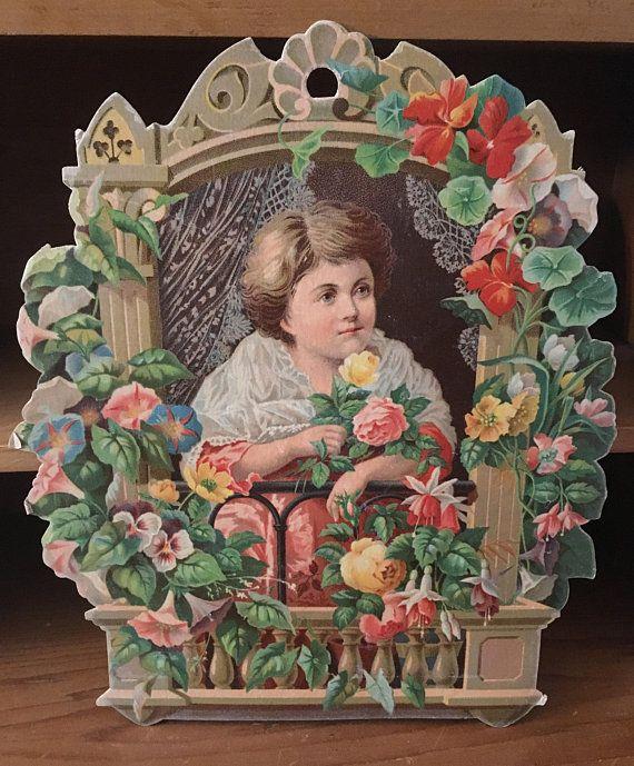 Victorian Trade Card McCullough Soap co.  c. 1870's