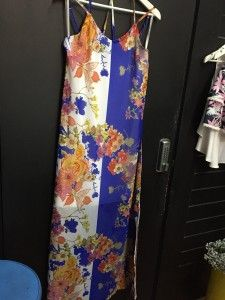 Spicysugar Multi Floral Print Maxi Dress  WAS $74.99 NOW $25.00!