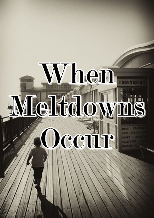 Being a parent of 4 kids means there are inevitably going to be child meltdowns at one time or another. Meltdowns usually occur at inopportune times and can last for a long time.  So what do you do when meltdowns occur?  How do you get your child back on track?
