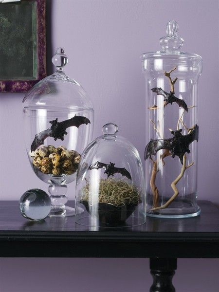 Halloween Apothecary Jars ~~ can be reproduced DIY