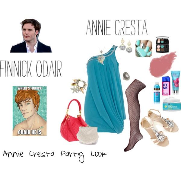 Annie Cresta Party Look