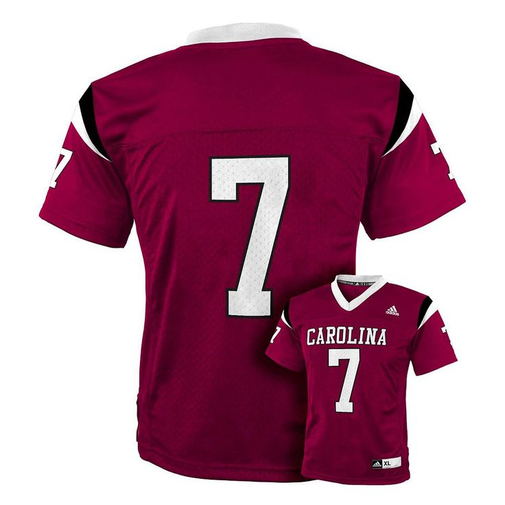 South Carolina Gamecocks Football Jersey - Boys 8-20, Size: Large, Red