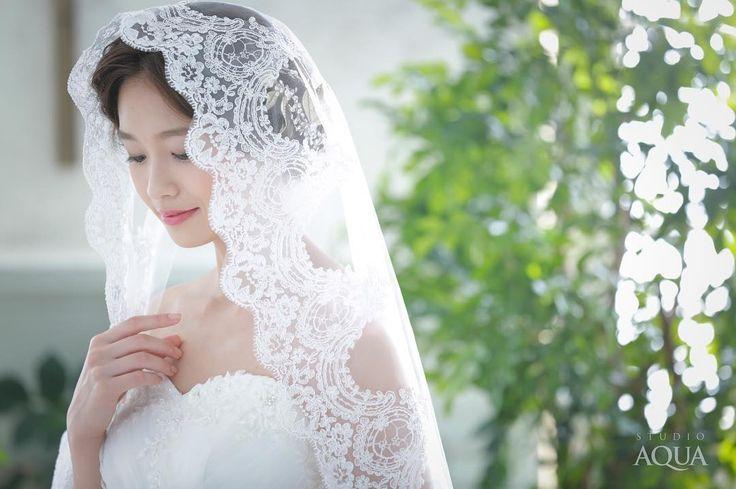 憧れ♡神秘的で美しい『マリアベール』の付け方まとめ* | marry[マリー]