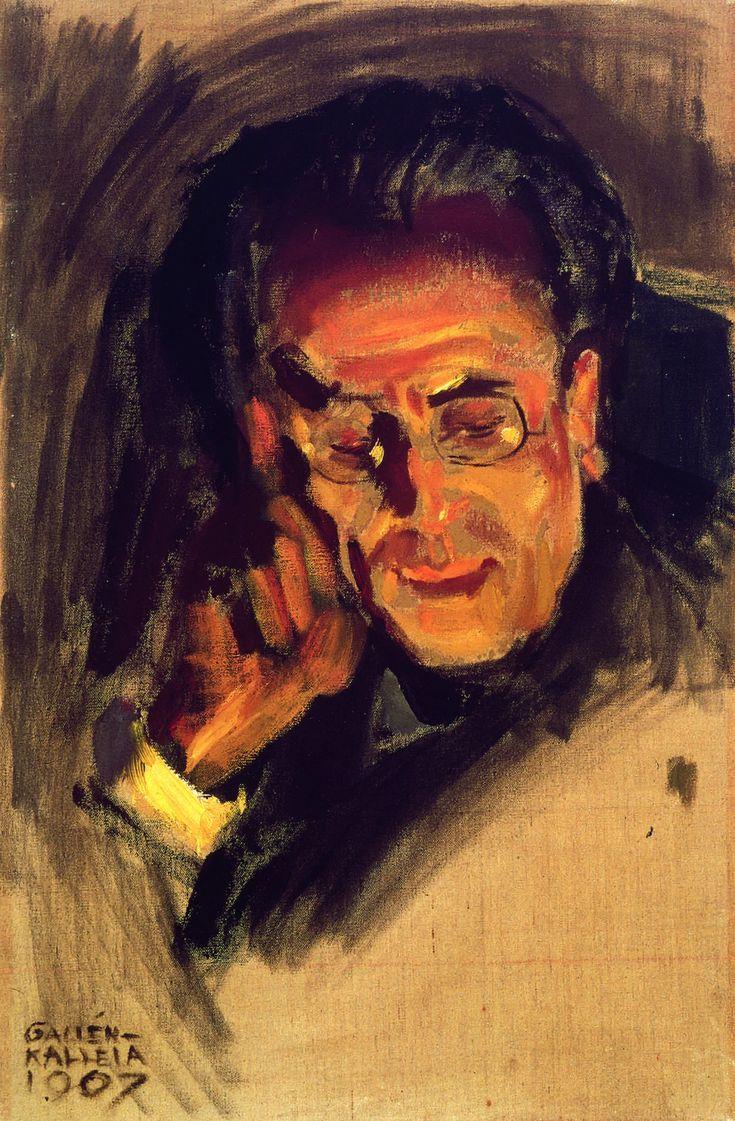 Akseli Gallen-Kallela / portrait of Gustav Mahler