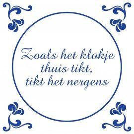 nederlands spreekwoord