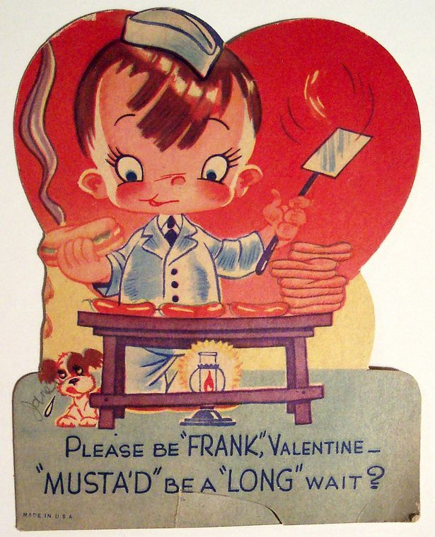 The 18 best Valentines Day Butcher Cards images on Pinterest