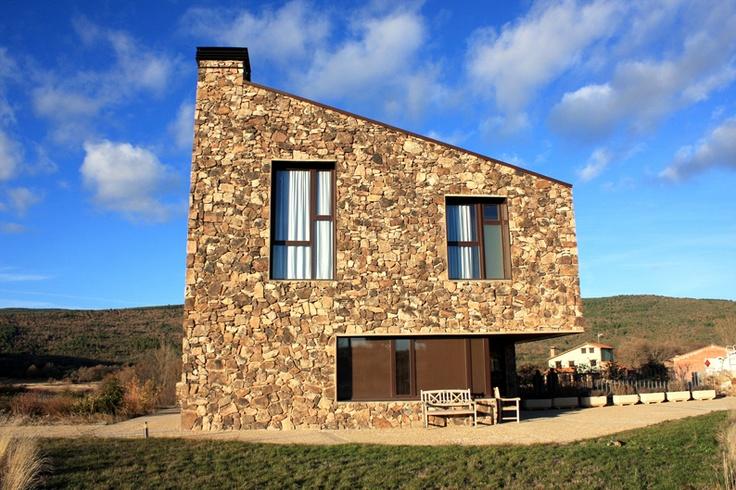 aq4 Arquitectura    Casa Rural Los Sestiles (Dombellas, España)