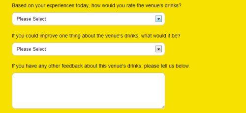 Scream Pubs Customer Feedback Survey, www.scoremyscream.com