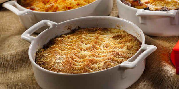 Lanttulaatikko (mashed turnip casserole).