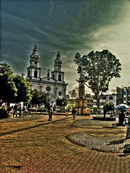 Plaza San Felipe Ipiales #colombia
