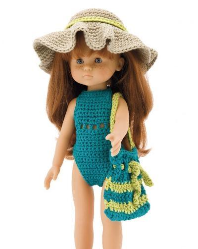 crochet knitting ...Poppenkleding haken en breien