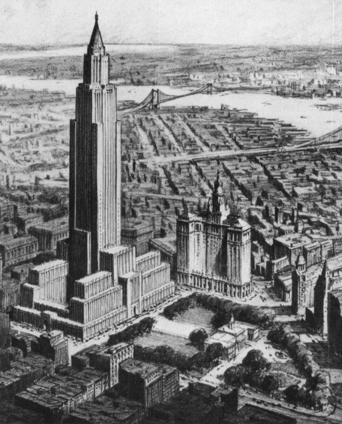 The New York City that Never Was: Part I Buildings   Untapped Cities