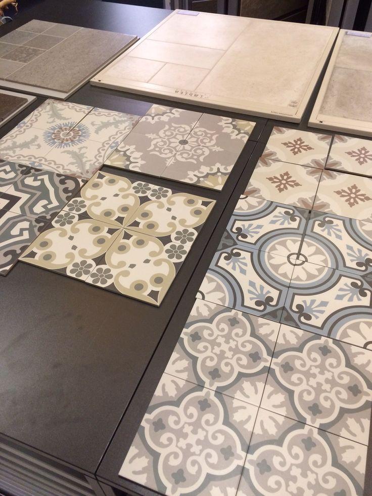 Decoratieve tegel voor de vloer (Filippo).