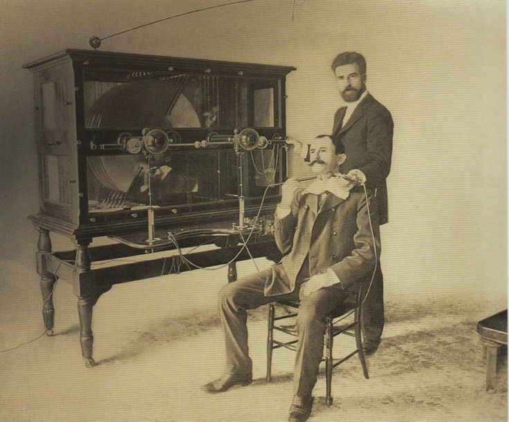 C 1890 Electro Therapy Treatment For Throat Disease