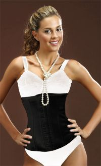 Reduce your waist and burn fat effortlessly! This corset is designed using latex material that is especially made to burn fat by making you perspire. This design is combined with cotton for added comfort. Burns fatty tissue; Targets the back, torso, waist and abdomen areas; Helps you loose those extra inches; Provides abdominal support.