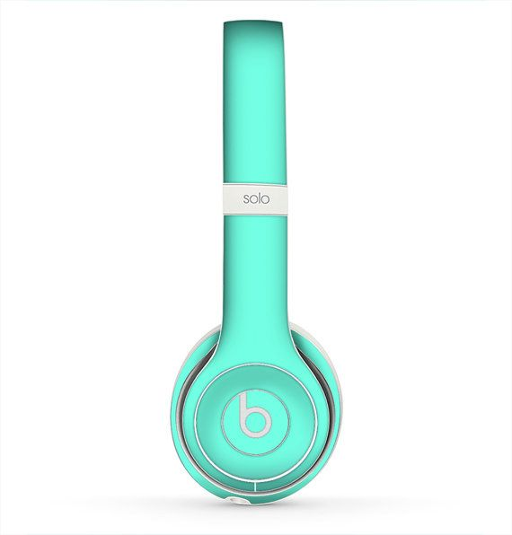 The Solid Mint V2 Skin for the Beats by Dre Headphones by iinLuv