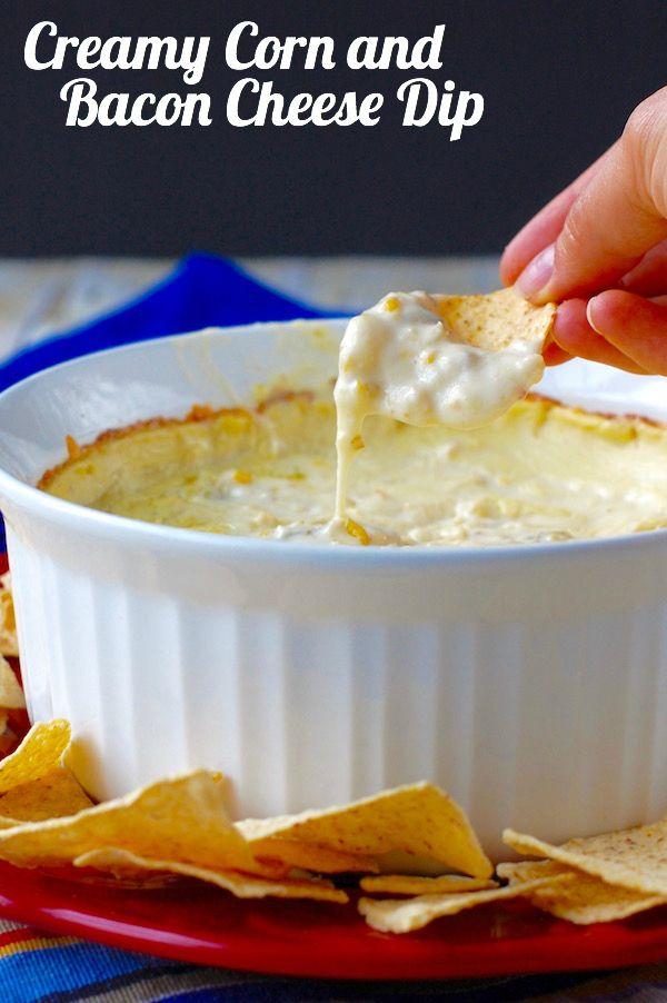 Creamy Corn and Bacon Cheese Dip