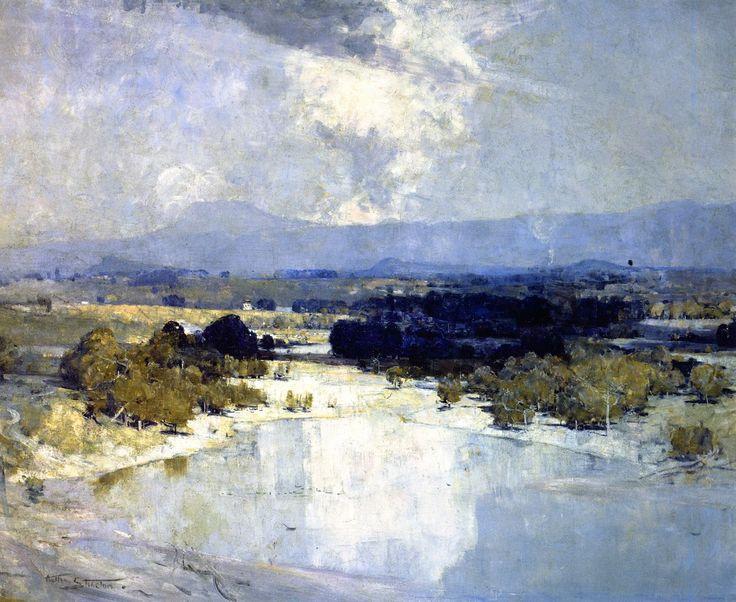 The Athenaeum - Hawkesbury River (Sir Arthur Streeton - )