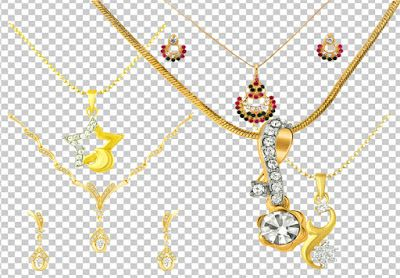 gold and diamond new jewellery very beautiful psd