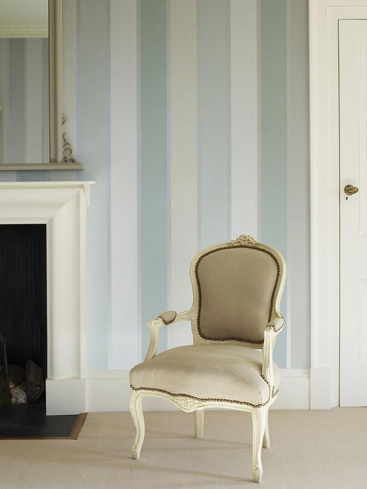 Prestigious textiles aspire wallpaper eau de nil 1945 for Eau de nil bedroom ideas
