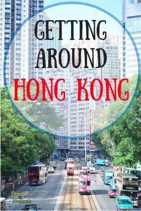 Hong Kong Transportation: Best Ways to Get Around Hong Kong - Peanuts or Pretzels Travel #HongKong #Transportation #China