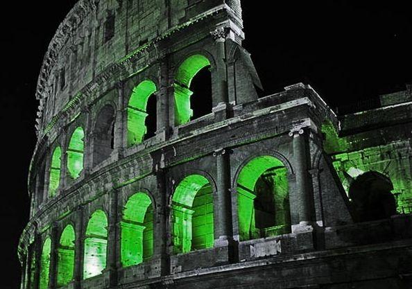 Global Greening, il Colosseo il 16 Marzo si veste di verde per la Festa di San Patrizio