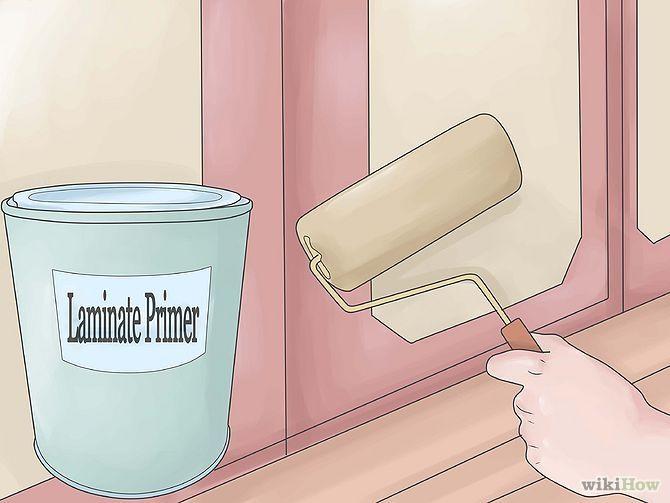 Paint Laminate Cabinets Step 5 Version 2.jpg.. pintura en laminados.