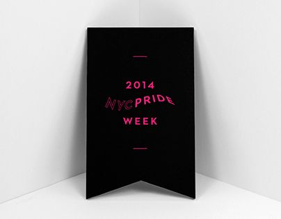 "Check out this @Behance project: ""NYC Pride 2014"" https://www.behance.net/gallery/21233267/NYC-Pride-2014"