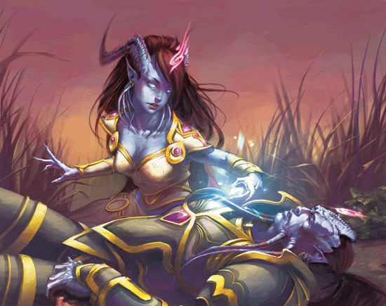 Most Epic Draenei Fan Art ever! - Page 2