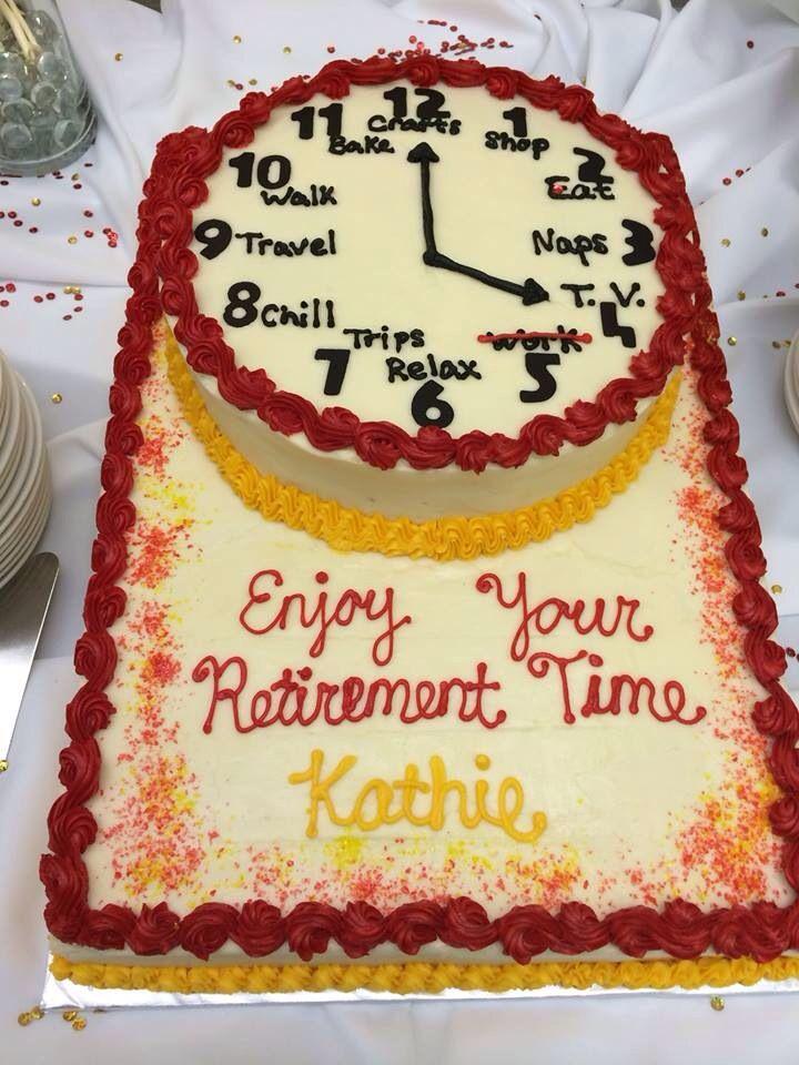 Mom's Retirement cake!
