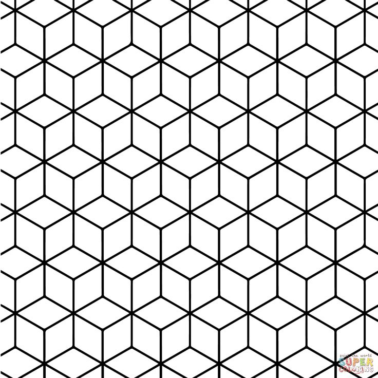 73 best patterns images on Pinterest  Coloring books Geometric