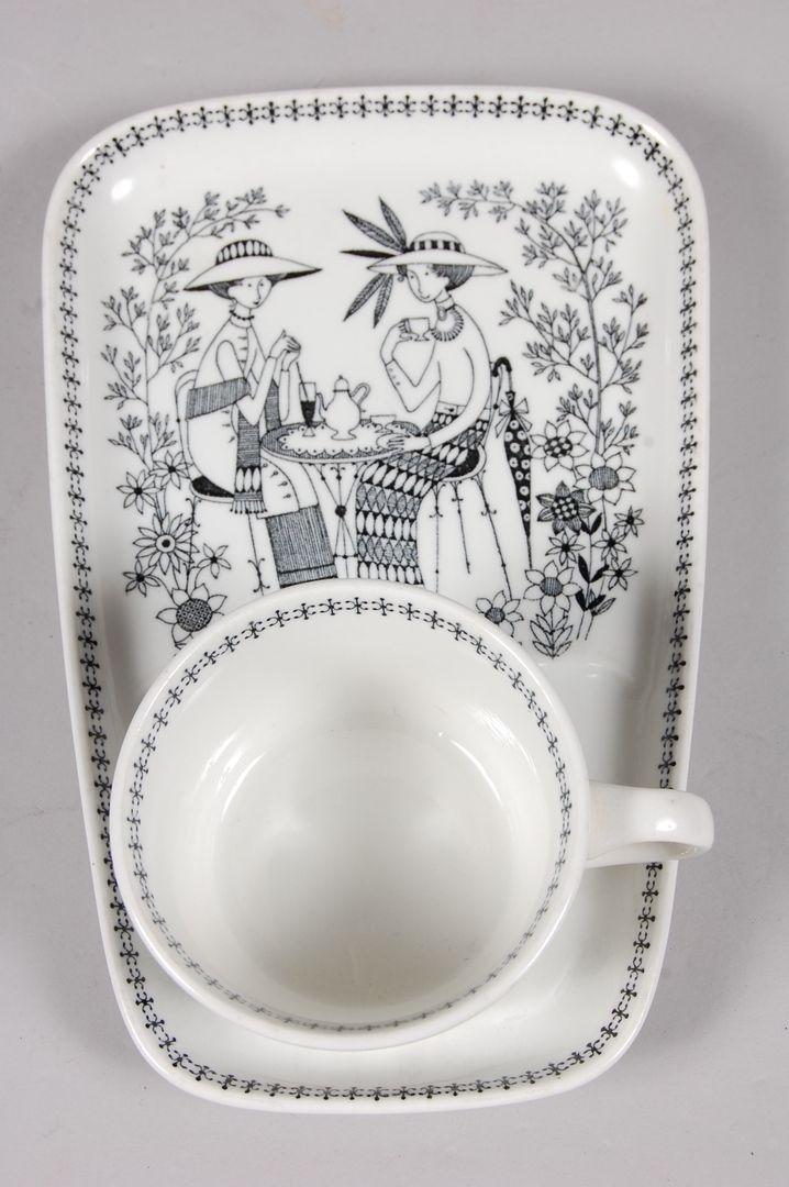 Images for 24486. FRUKOST PORSLIN, 1 par, Arabia,  Emilia Raija Uosikkinen 1950-tal. – Auctionet