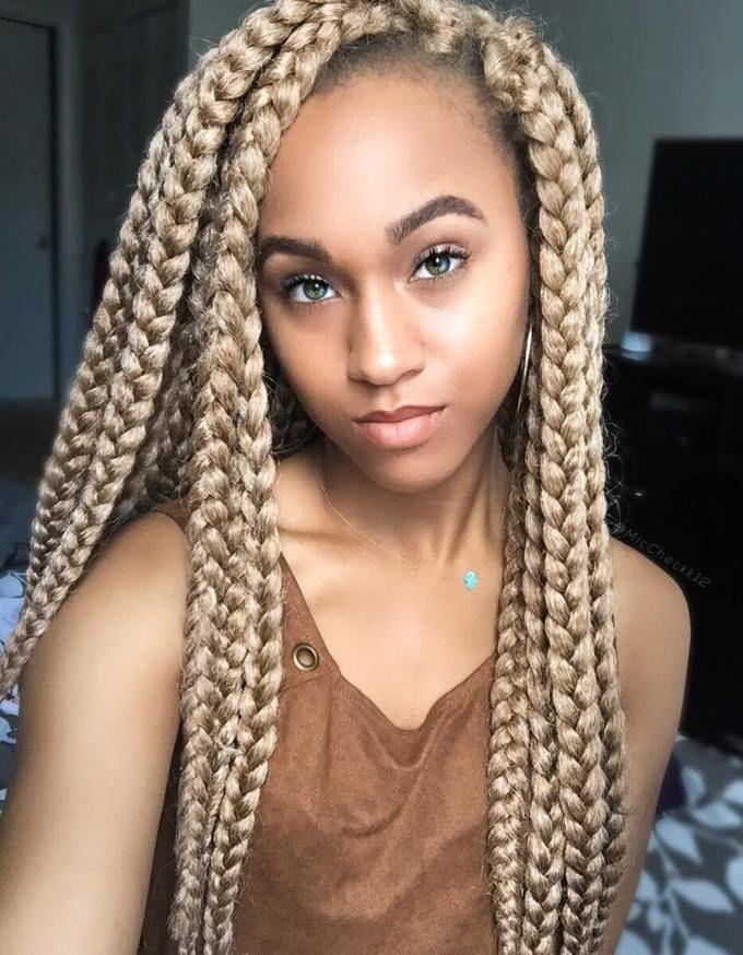 Blonde Dookie Braids For S