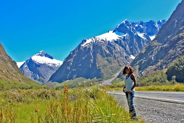 Road trip  in southern New Zealand.