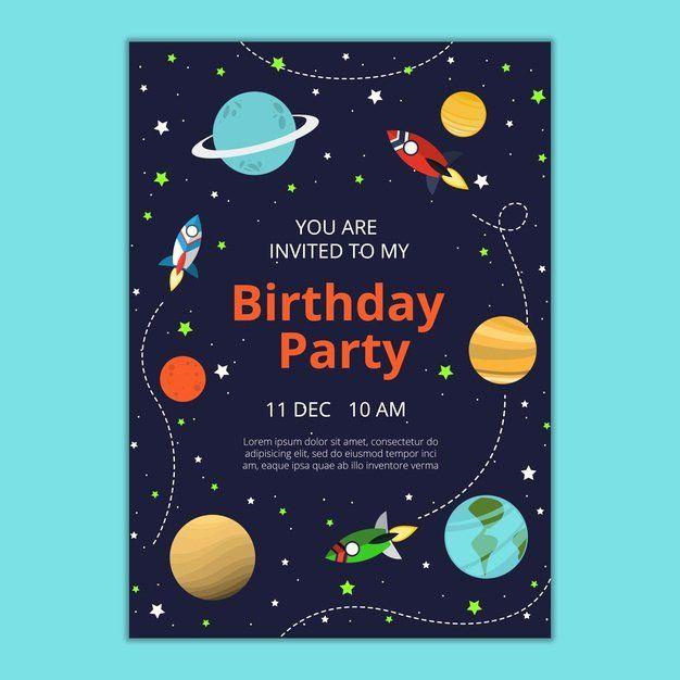 Birthday Invitation Template Photoshop Fresh Birthday Invitation Template Psd Fil Birthday Invitation Templates Party Invite Template Birthday Invitations Kids