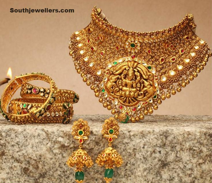 Necklace Set by NAC Jewellers ~ Latest Jewellery Designs