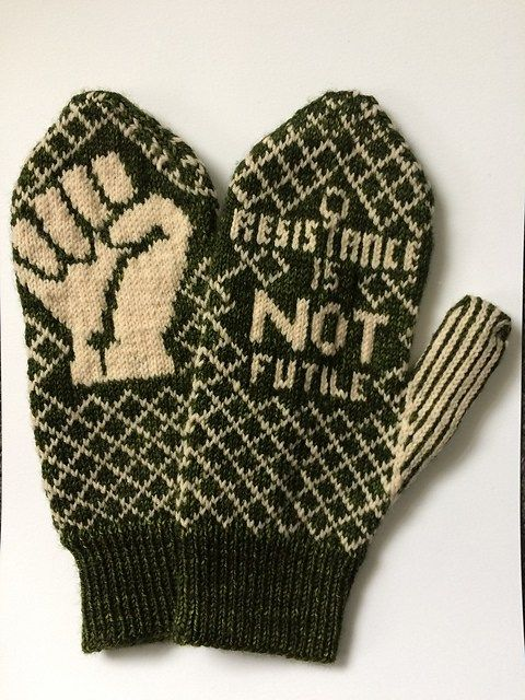 """Resistance is not futile! """"All proceeds from this pattern will be donated monthly to a rotating list of charities that work to make life better for ALL people, not just those in power.""""…"""