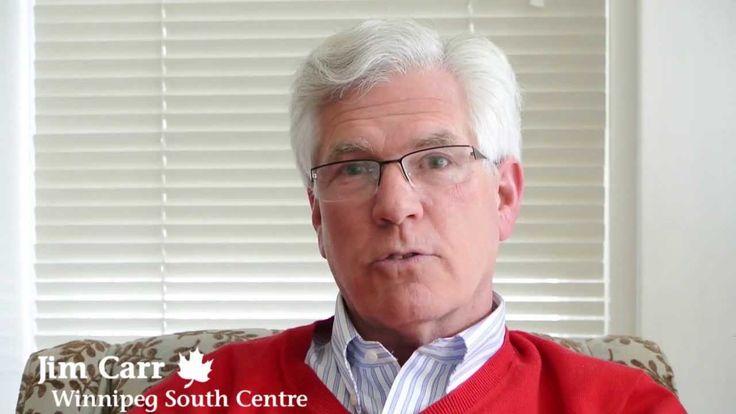 Jim Carr - Liberal MP...Winnipeg South Centre, elected Oct 19 2015