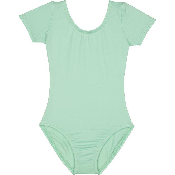 MINT GREEN Short Sleeve Leotard for Toddler & Girls - Gymnastics / Ballet Dance – The Leotard Boutique