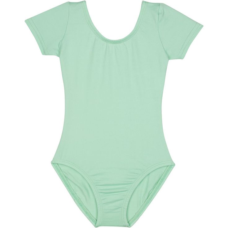 MINT GREEN Short Sleeve Leotard for Toddler & Girls - Gymnastics / Ballet Dance – The Leotard Boutique