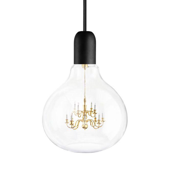 Les 25 meilleures id es concernant chandelier bulle sur pinterest luminaires lustre de salle - Grande lampe a bulle ...