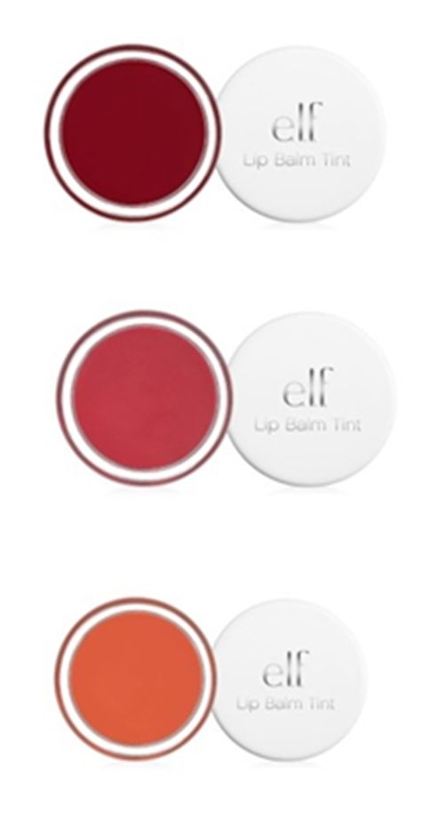 "Another pinner: ""Elf Lip stain tint Berry. Love these! Surprisingly pigmented, smell like sugar cookies, and do a great job at moisturizing."""