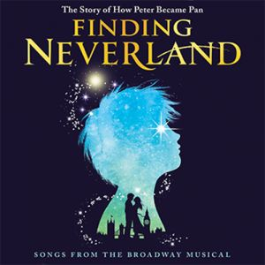 Finding Neverland The Broadway Musical soundtrack on CD.