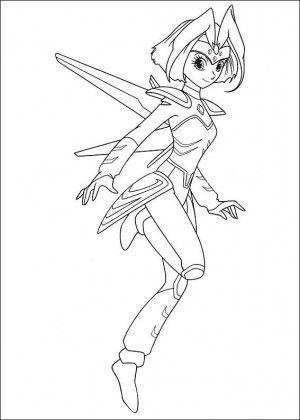 Astro Boy coloring page 23