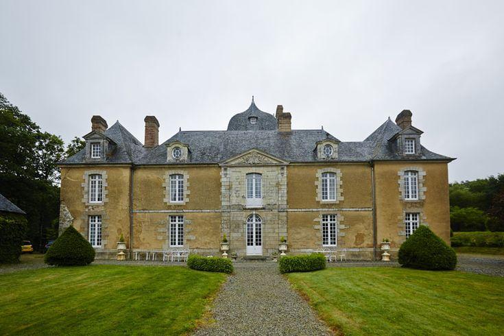 Château du Bois Glaume à Poligné, Bretagne