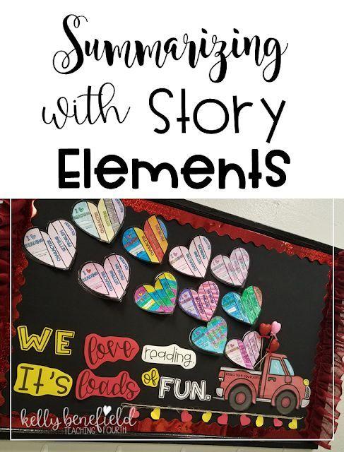 Summarizing With Story Elements Bulletin Boards Story
