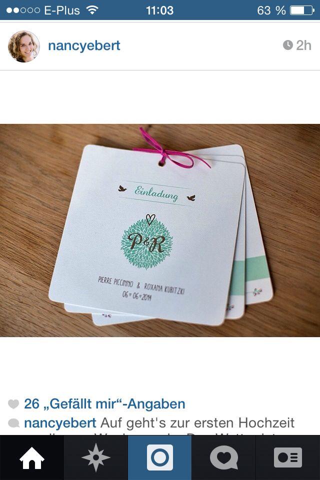 9 besten Hochzeitseinladungen Bilder auf Pinterest