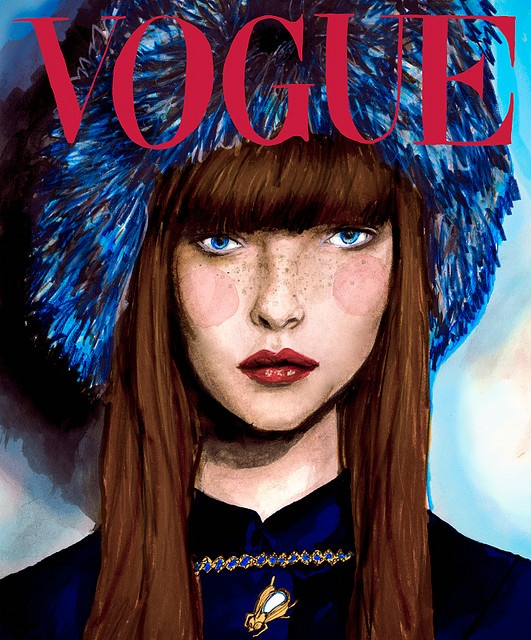 Danny Roberts | Vogue cover | illustration