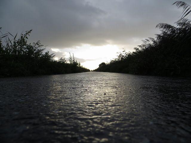 verdwijnpunt van een rivier