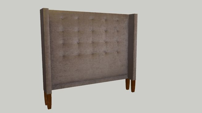"""This """"HILLARY QUEEN HEADBOARD"""" is 67.5"""" wide, 60"""" high and 9.5"""" deep. The fabric is """"Astor Place"""" in the color sparrow, it is part of the new Nate Berkus fabric collection at """"Calico"""". This headboard can be customized in your choice of fabric. #bed #bedding #Calico_Corners #headboard #upholstered_headboard"""